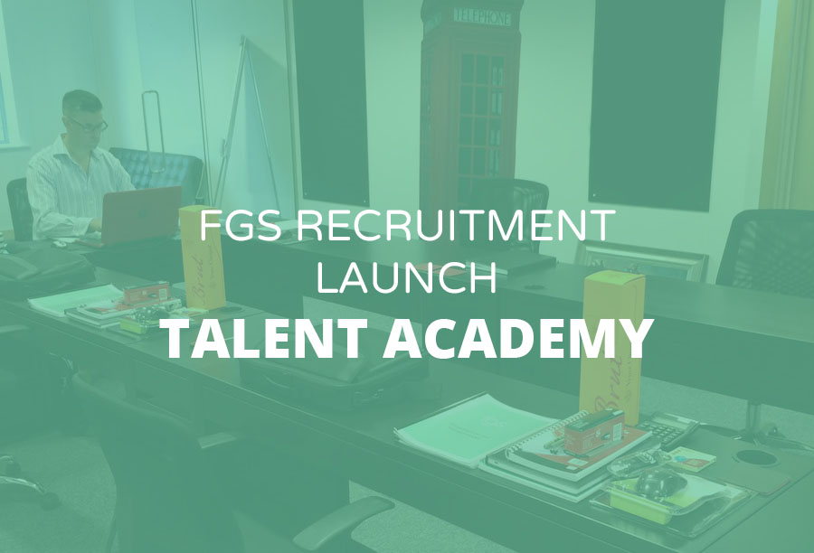 FGS Launch Talent Academy for aspiring Recruitment Consultants | FGS Recruitment
